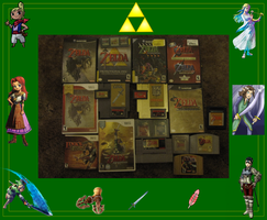 Zelda Collection COMPLETE!! by Salem-the-Psychic