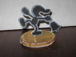 Game and watch trophy by ganon-destroyer