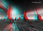 Planet The Puzzle Anaglyph 3D by Osipenkov