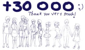 30 000 thank you very much by secretosycolores