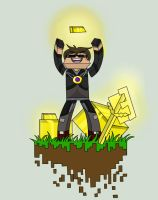 Budder: SkyDoesMineCraft by OkamiArtist