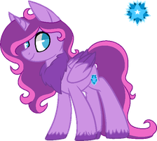 Starlight Sparkle [NEW DESIGN] by hiivelee