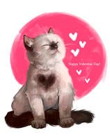 Happy Valentine Day by AntheiaVaulor