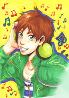 Enjoy the music! by KuroHaine