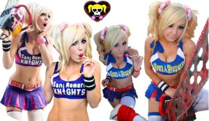 Jessica Nigri - Lollipop Chainsaw Collage 5 by shinkei5