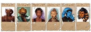 The Crew of the Ryll's Tale by r4design