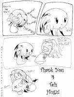 Thanks 4 teh Hugz by chaoticdreamer