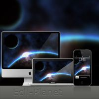Ecli-Planet Wallpaper by DRX-Design