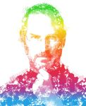 Tribute to Steve Jobs by dabluetouch