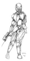 Carapace Armour by MonkeyToho