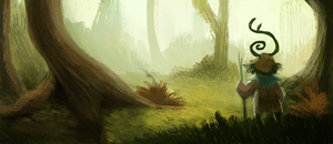 DAY 363. Weird Forest (Part 1) by Cryptid-Creations