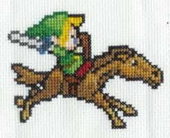 Link and Epona by DawnMLC