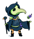 Plague Knight by Fab-912