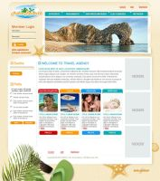 Travel agency website by vasilius
