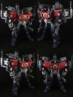 Custom Wingblade Optimus Prime by Solrac333