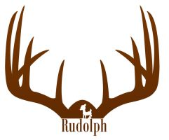 Rudolph Silhouette by 4and4