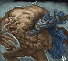 Clayface Color by SketchMonster1