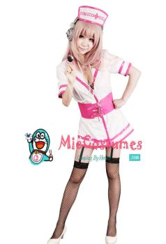 Supersonico Nurse Cosplay Costume by miccostumes