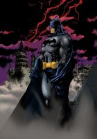 batman color by nikolaip