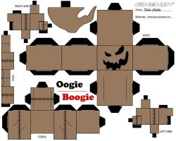 Oogie boogie cubeecraft by melopruppo