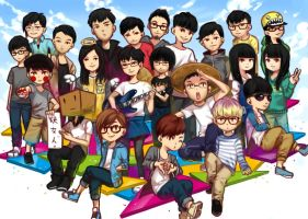 FunnyDance-Hello!We are a group of college studen! by LengYou