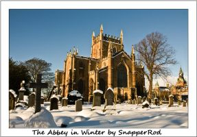 The Abbey in Winter by SnapperRod