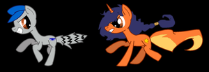 Carmelita Fox chasing Sly Cooper by coolmlpfangirl450