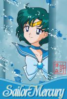 Sailor Mercury Card by xuweisen