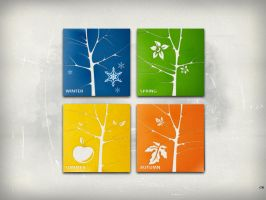 The Four Seasons by chamirra