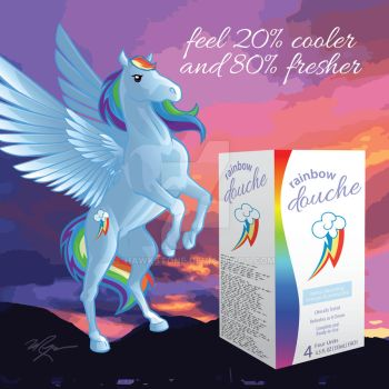 Rainbow Douche: Freshness is Magic by Hawkstone