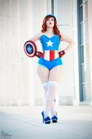 Miss Captain America V by EnchantedCupcake