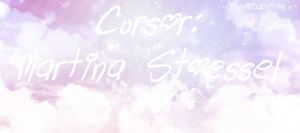 Cursor:Martina Stoessel(Pedido) by MicaEditionsSs