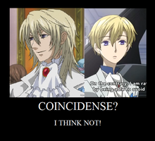 Tamaki Suoh and The Viscount Druitt by ScarlettEvans