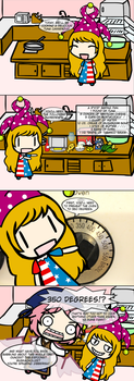 Cooking with Clownpiece by StevosStuff