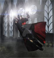 Diving Dante by 3D-Fantasy-Art