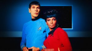 Spock and Uhura by Dave-Daring