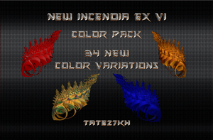 New Incendia Color Pack by Tate27kh