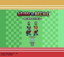 Brian and Archie Arcade Attack by KoonieDude