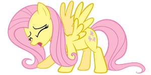 Fluttershy's Roar by Angel-the-Bunny