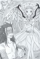 Gajevy My idiot dragon - my blue fairy by alicemay18