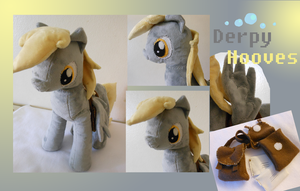 Mlp FiM: Derpy Hooves Plush by Tawny0wl
