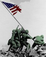 Iwo Jima Tribute by bhardwaj24