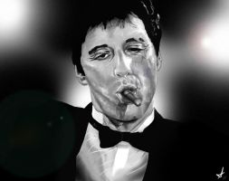 Scarface- Tony Montana by DookieAdz