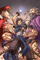 Street Fighter colors by NicolasViig