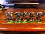 Finished Grey Knight squad! by ezioauditore97