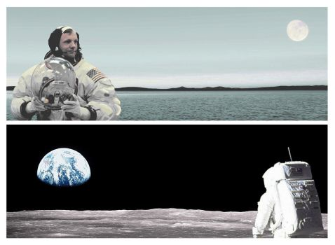 We went to the Moon and discovered Earth instead by InPBo