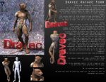 Anthro Dravec Reference Sheet by PWRof3D
