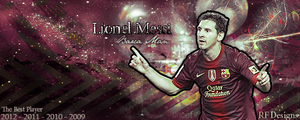 Lionel Messi by XRew7