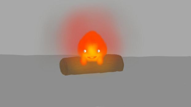 Calcifer by crazykidsteveo