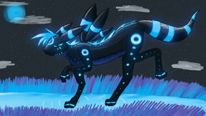 variations on an Umbreon by SilverLucario12